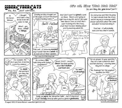 UberCyberCats retrospective page 1 of 3