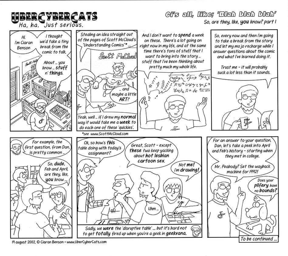 UberCyberCats retrospective page 1 of 3 by ciaranbenson