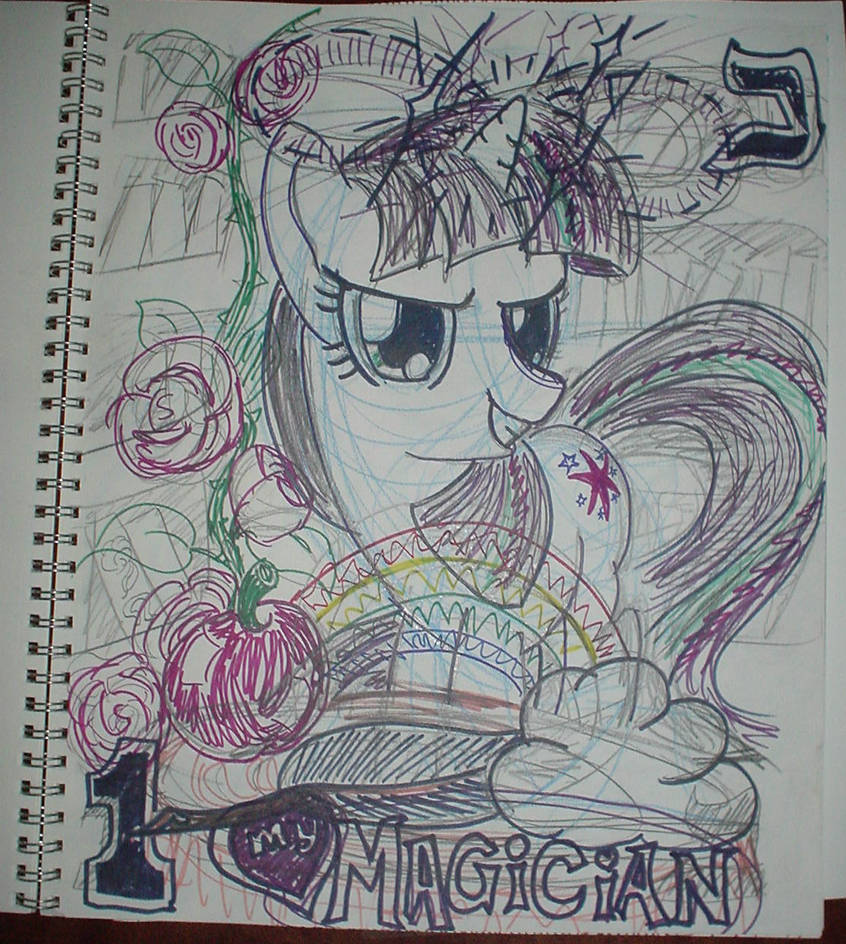 My Little Magician by ciaranbenson