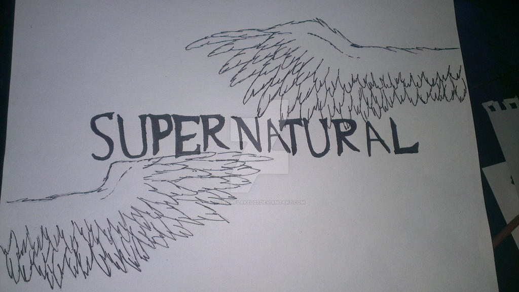 Supernatural season 4 title card by snowflaked23 on - Supernatural season 8 title card ...
