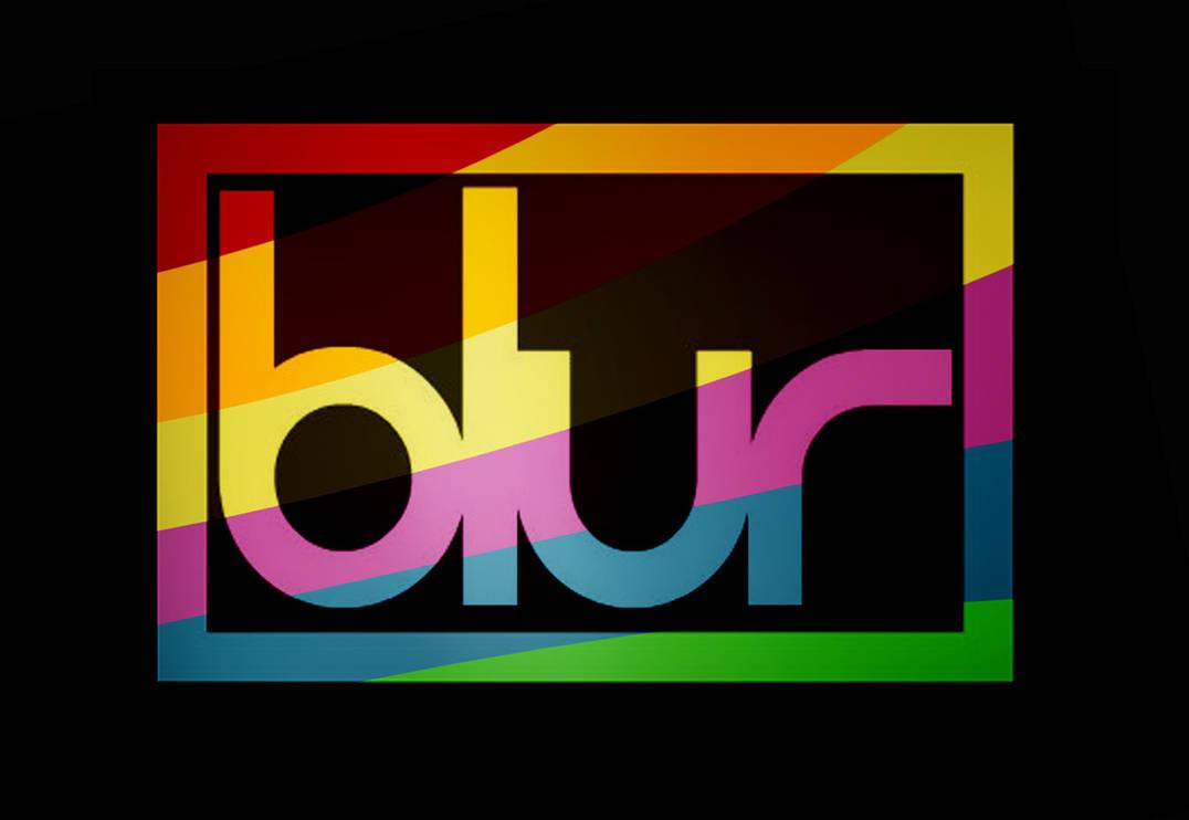 Rainbow Blur logo