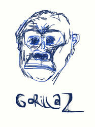 Gorillaz cartoon by tripus
