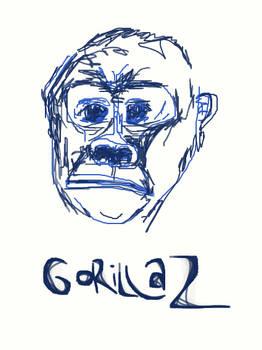 Gorillaz cartoon