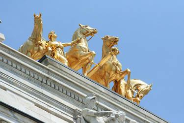The Quadriga at the Minnesota State Capitol by DavidBaerMinnesota