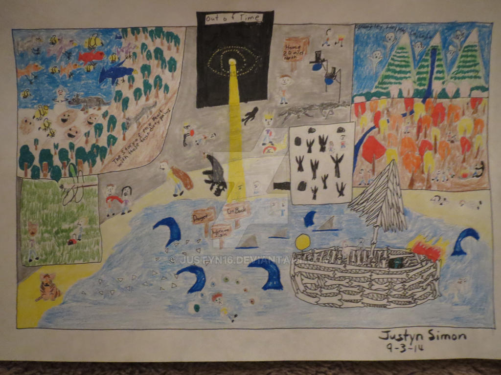 Of monsters and men fan art drawing by Justyn16