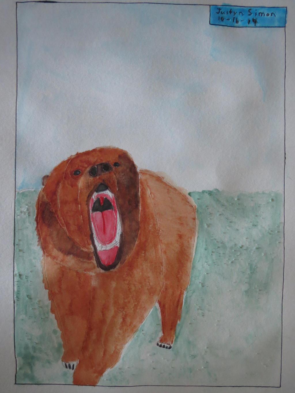 Roaring Bear by Justyn16