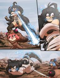Kaiju girls comic godzilla vs mothra larva part 2