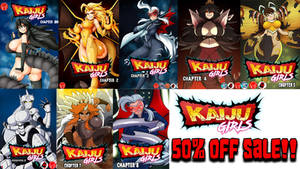 every kaiju girls chapter 50% off