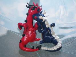 Anniversary Dragon by NinjaLizzard