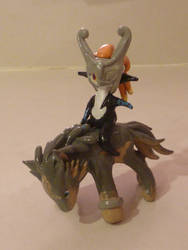 Midna and Wolf Link