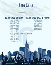 Lady Gaga Tour Dates - Concert Lane
