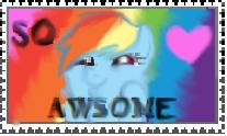 SO AWSOME stamp by thunderbolt3000