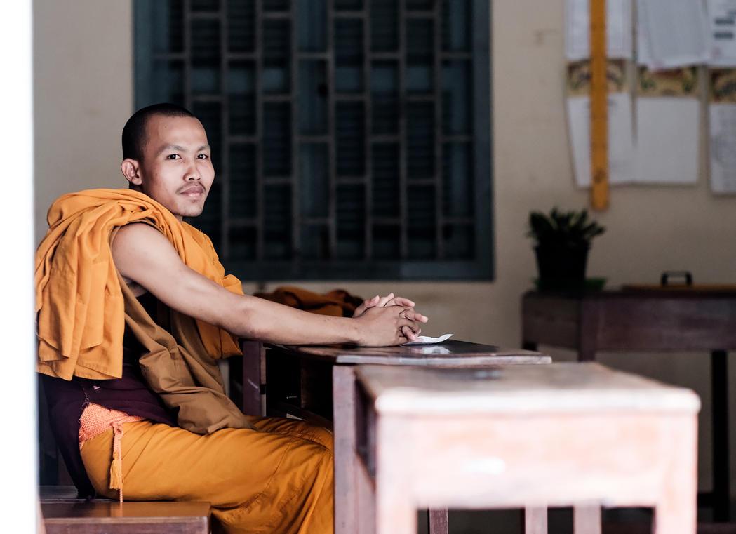 Buddhist School by dmack