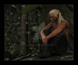Regrets: Zevran Arainai by Mavrosh