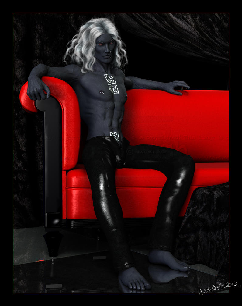 The Red Couch: Fhion by Mavrosh