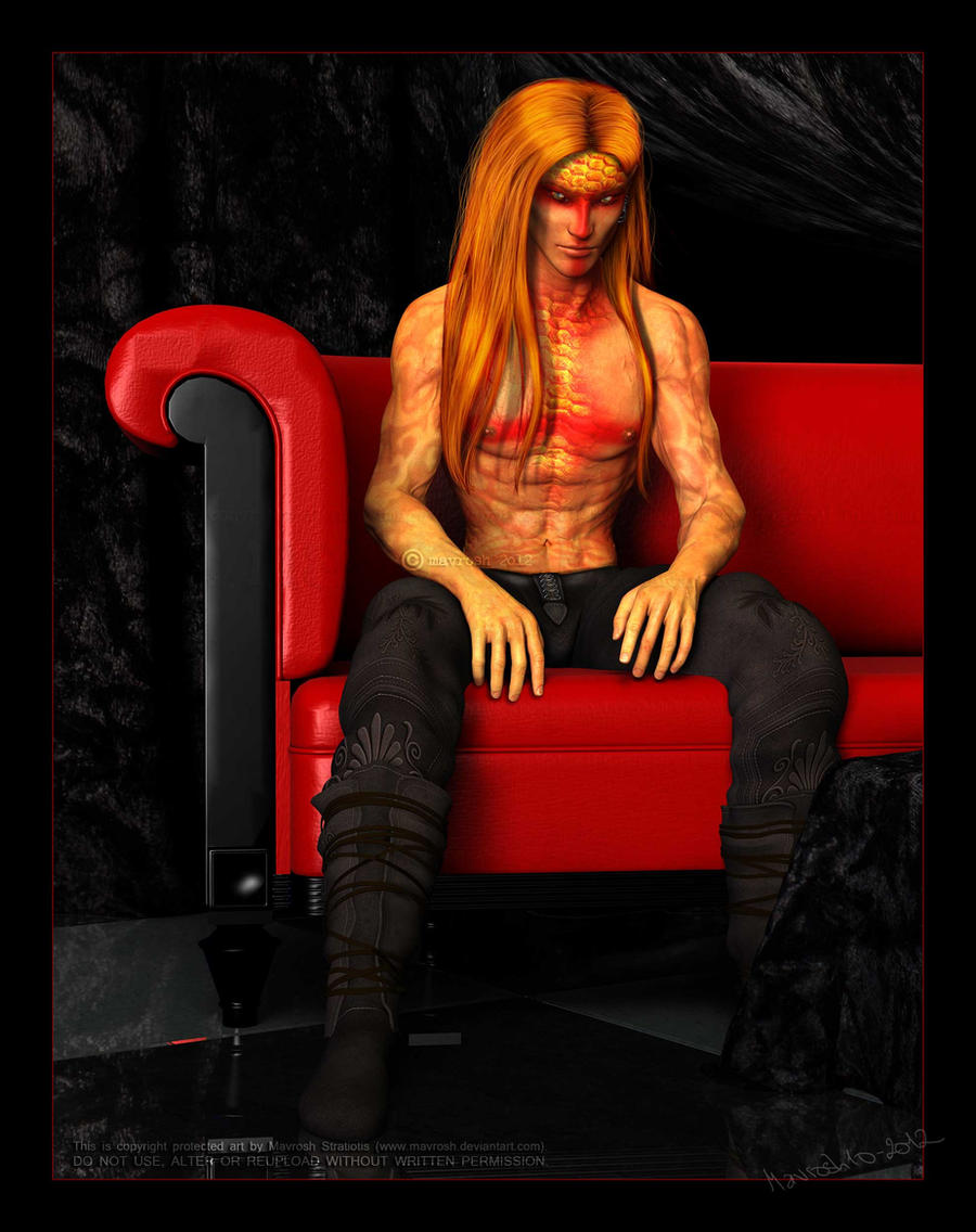 The Red Couch: Sinsir by Mavrosh