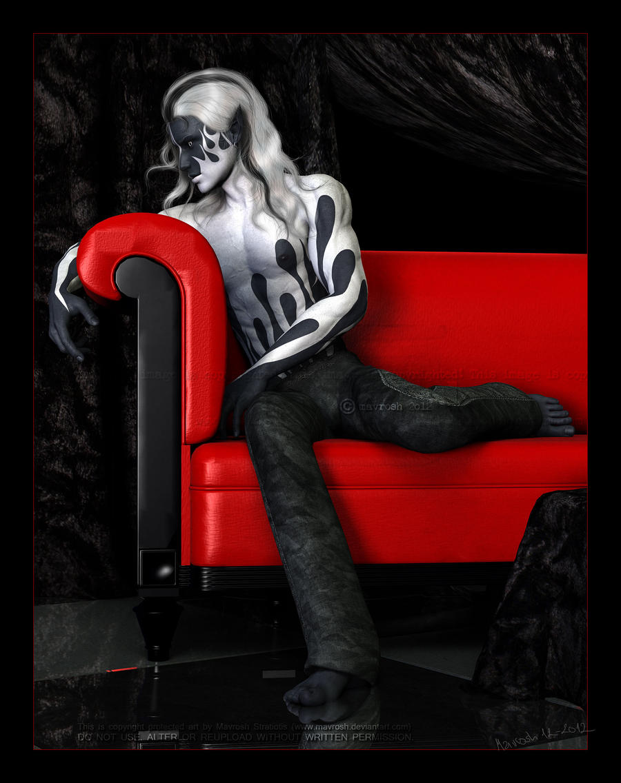 The Red Couch: Ceithre by Mavrosh