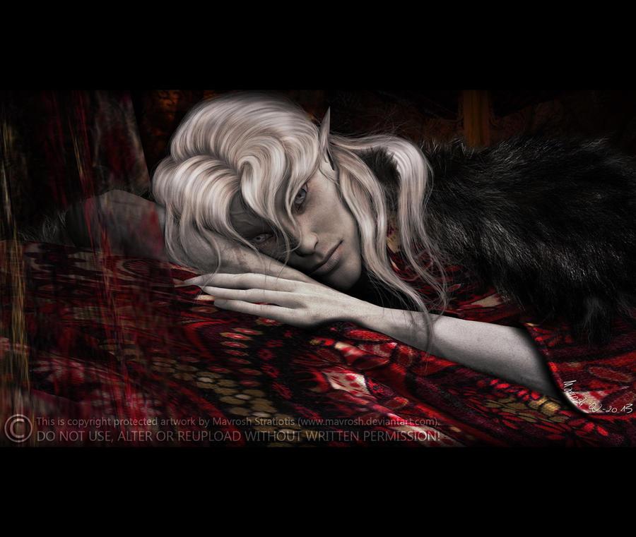 Resting Snow Elf by Mavrosh