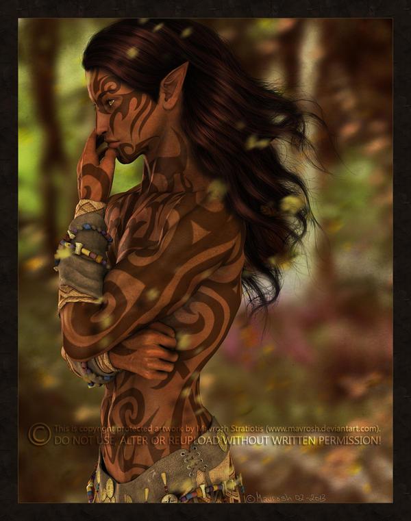 Wild Elf by Mavrosh