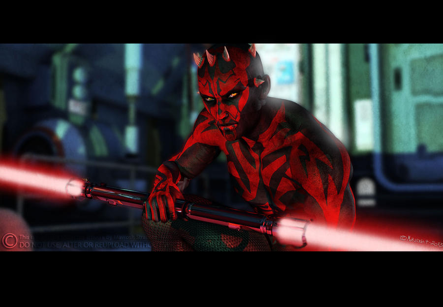 Darth Maul by Mavrosh