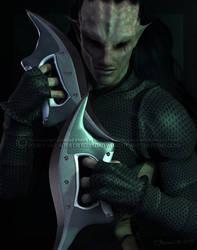 Alien Assassin by Mavrosh