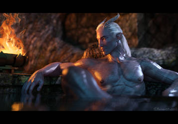 Dungeon Bath by Mavrosh