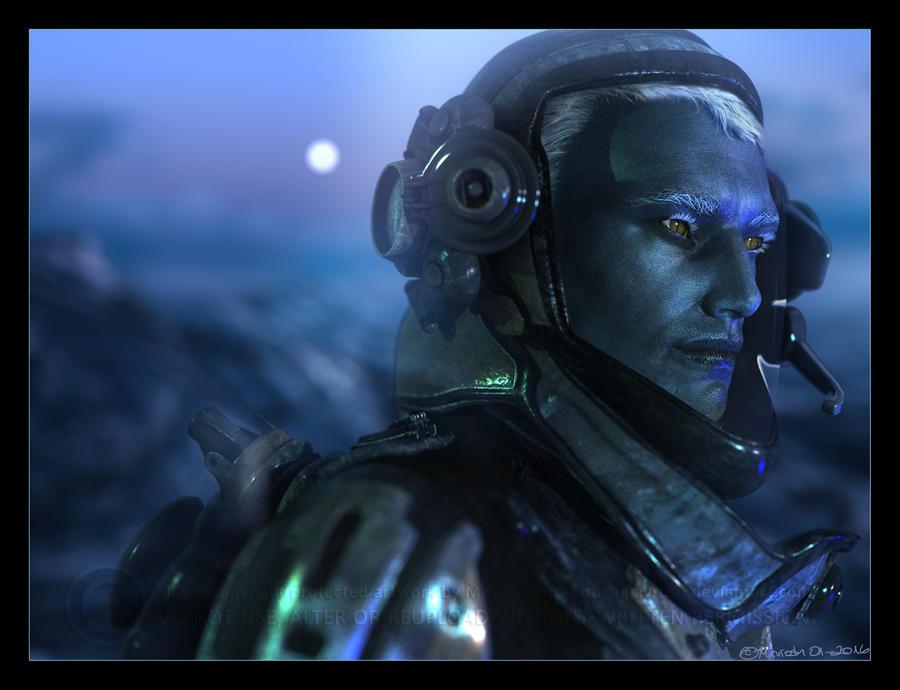 Space Elf by Mavrosh
