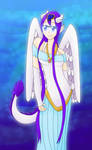Sky | Art Trade with MegnRox15 by bardi98