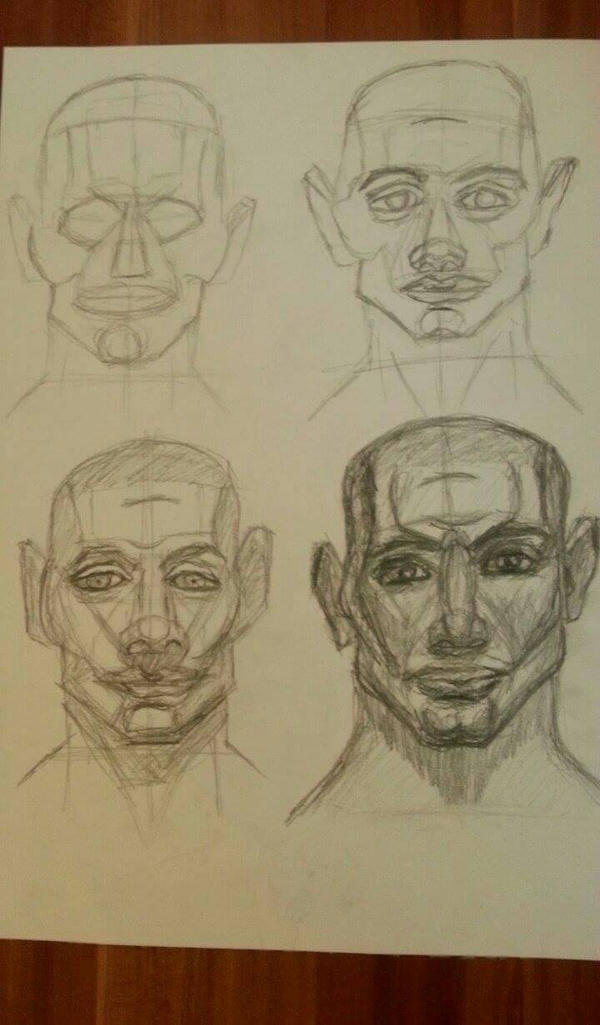 Portrait study by SIRBUOana