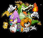 Trick or Treat: Team Chaotix