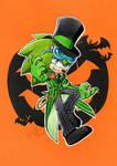 Halloween Scourge by FinikArt