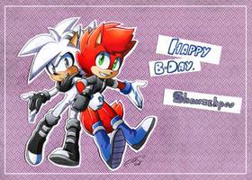 Gift: Happy Birthday, Shanzehpoo! by FinikArt