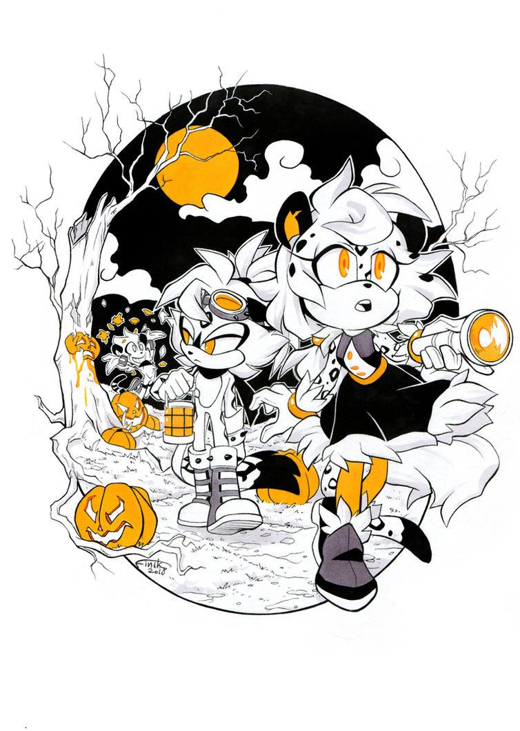 CE: Pumpkin night by FinikArt