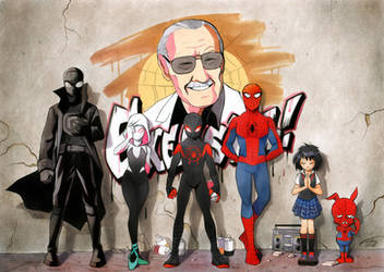 Excelsior! Into the Spider-Verse by FinikArt