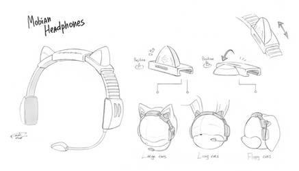 Mobian Headphones by FinikArt