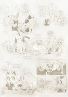 Sepia Cafe: Sketches by FinikArt