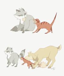 Fur and fun: Finik squad by FinikArt