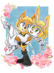 Just married by FinikArt