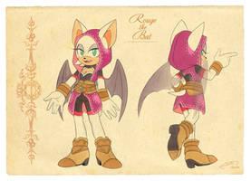 C: Rouge the Bat Fantasy AU
