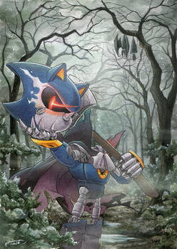 Halloween 2020: Metal Sonic the Headless Horseman