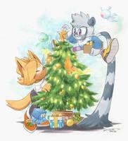 Tangle and Whisper Christmas