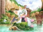 C: Treasure hunt in Dry Lagoon