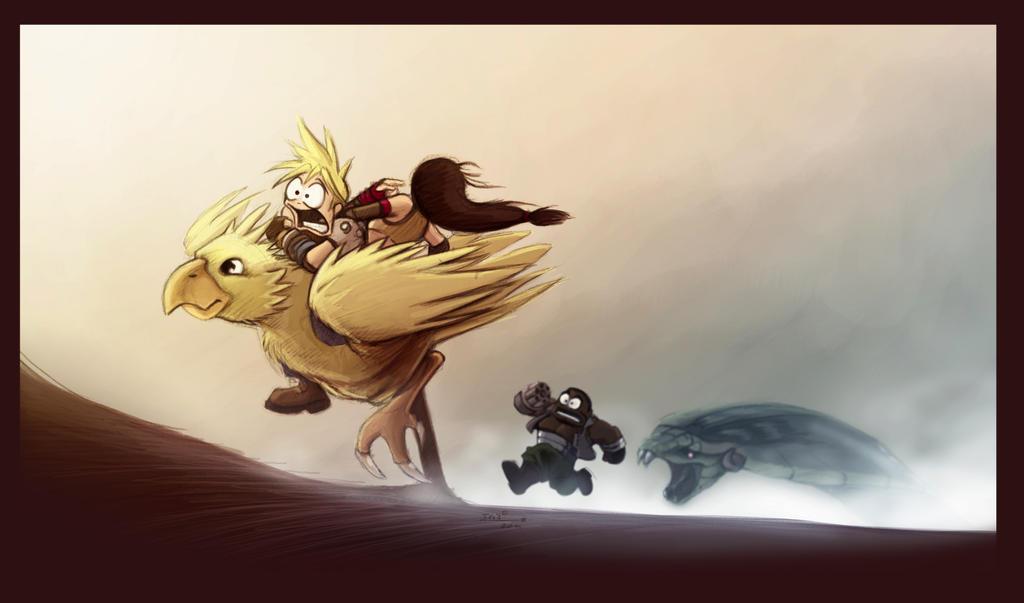 Final Fantasy VII help! by vilainoth