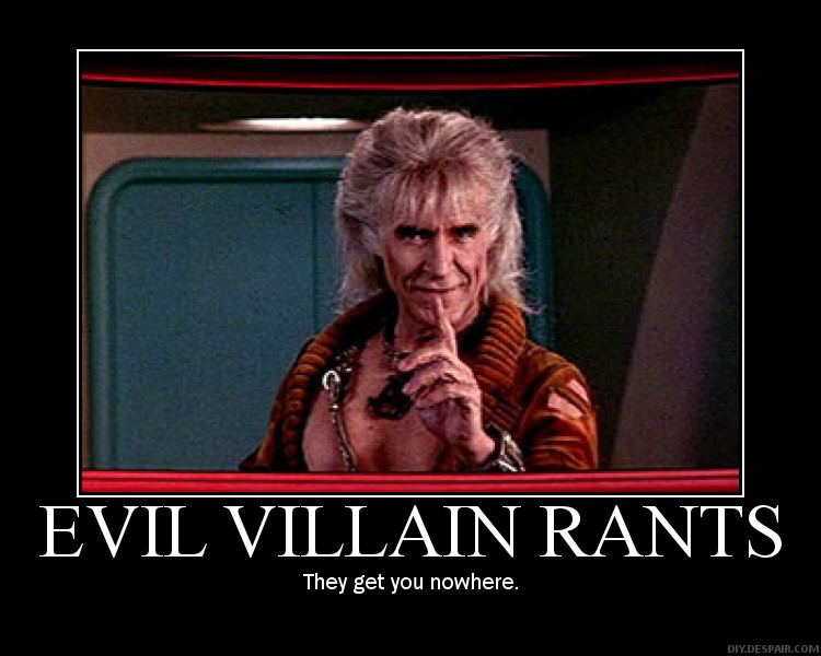 Star Trek Demotivator Khan By Galactia 3000 On Deviantart