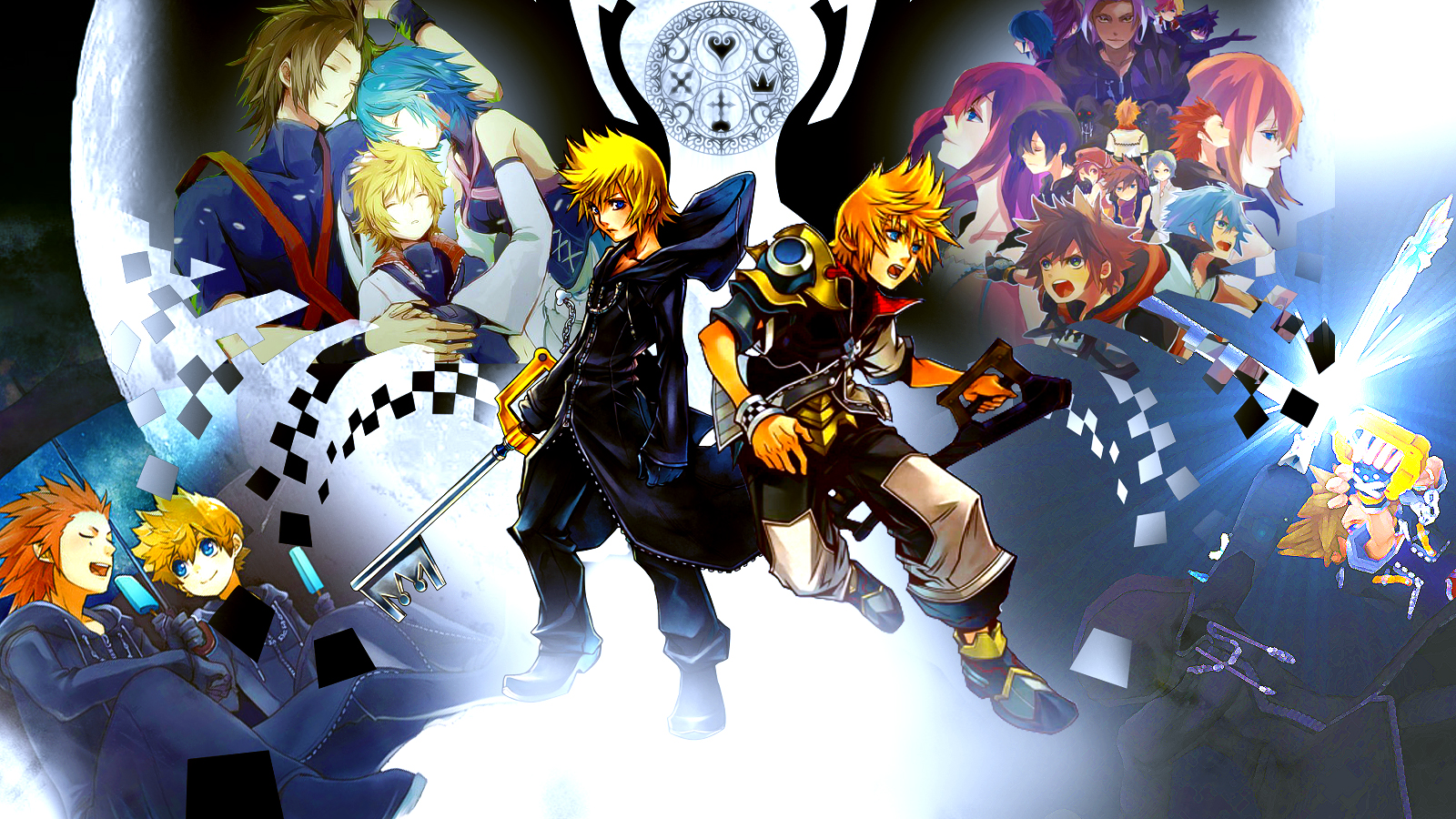 Kingdom Hearts Wallpaper by Sasori640 on DeviantArt