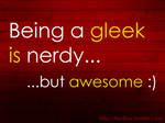 Gleek is awesome