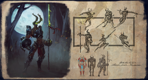 Dota Hero Concept by EsbenLash