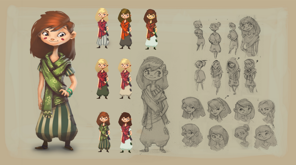 Character Design Artwork : Character design project echo by esbenlash on deviantart