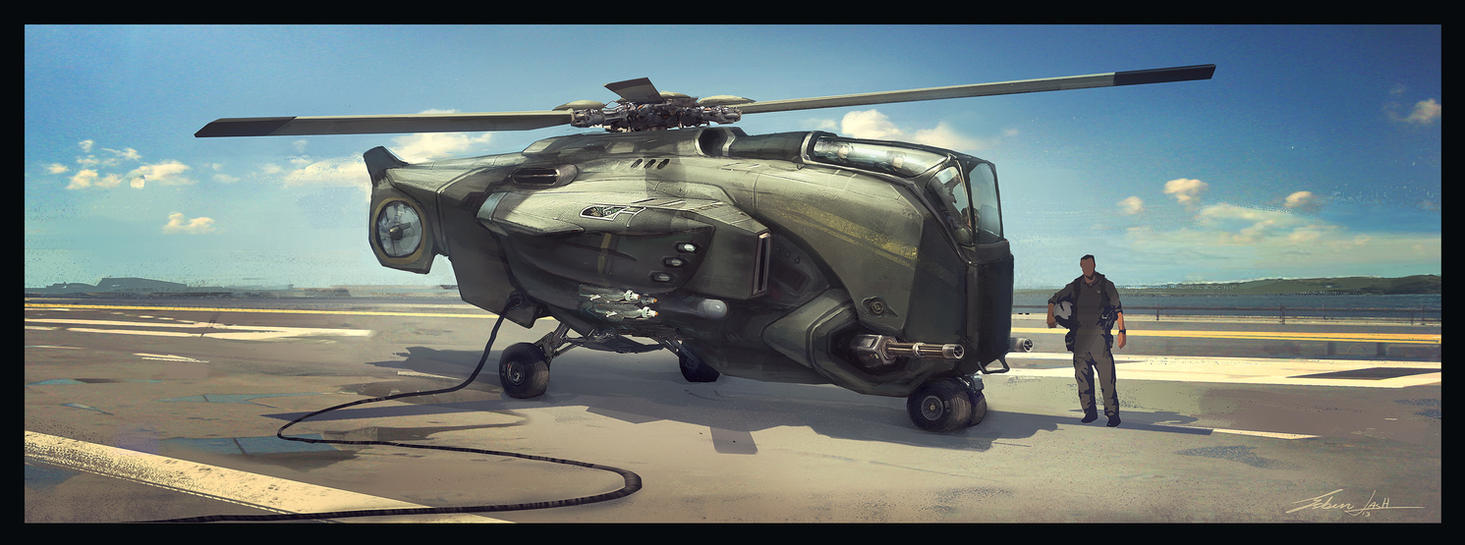 Helicopter by EsbenLash
