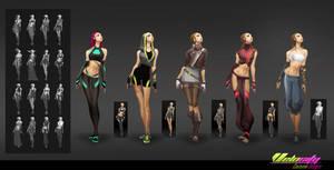 Costume Designs - Velocity